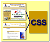 css CSS sheet –The Troubled White Space Around Header Tags